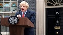 Genesener Premierinister Johnson ruft Briten zum Durchhalten in der Corona-Krise auf
