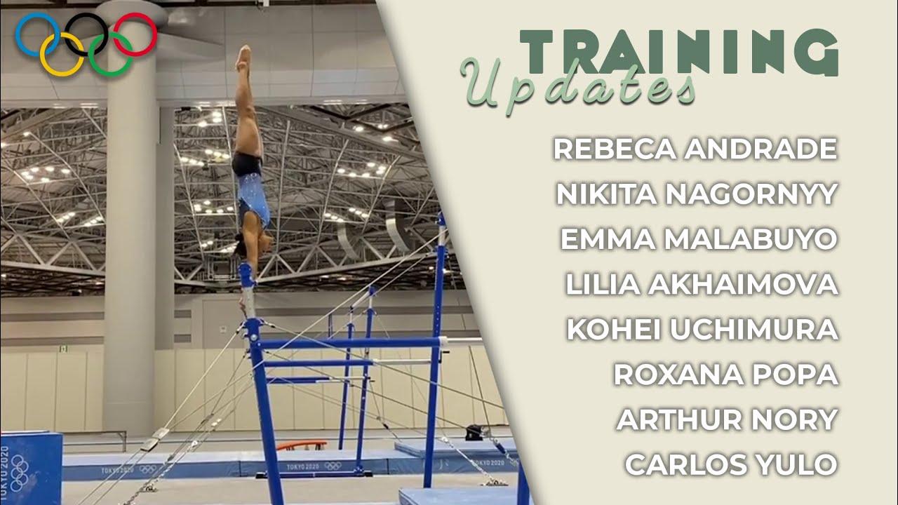 Training Updates: Rebeca Andrade has a Cheng! Emma Malabuyo is ready