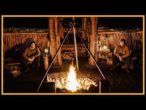 Overnighter/Übernachtung im Bushcraftcamp Naturenburg - Outdoor Bushcraft Deutschland