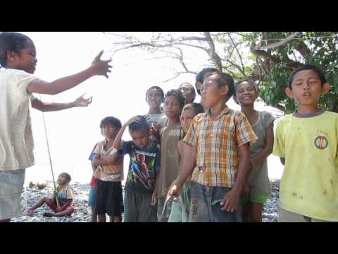 "Liquica Kids Singing ""Pátria"" the Timor Leste National Anthem"