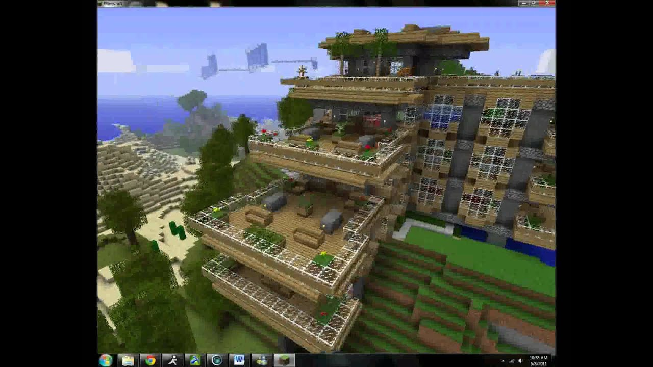 top minecraft creations houses extrem youtube