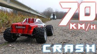 ВОТ ЭТО УРАГАН!!! Wltoys A979-B 4WD + CRASH TEST!