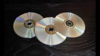 Ideias com CDs Velhos*Enfeite de Mesa com Cd/Porta canetas c/fotos@DIY