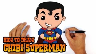 superman drawing lesson