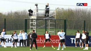 England vs Spain | England training session at Arsenal