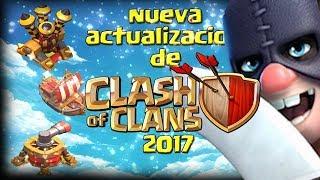 se viene la actualizacion de clash of clans
