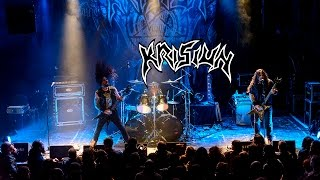 Krisiun - Black Force Domain (live Lyon - 6/11/2016)