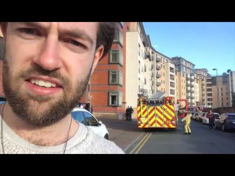 Fire In Leeds City Centre Flat