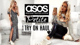 ASOS PETITE TRY ON HAUL 2019 / AD