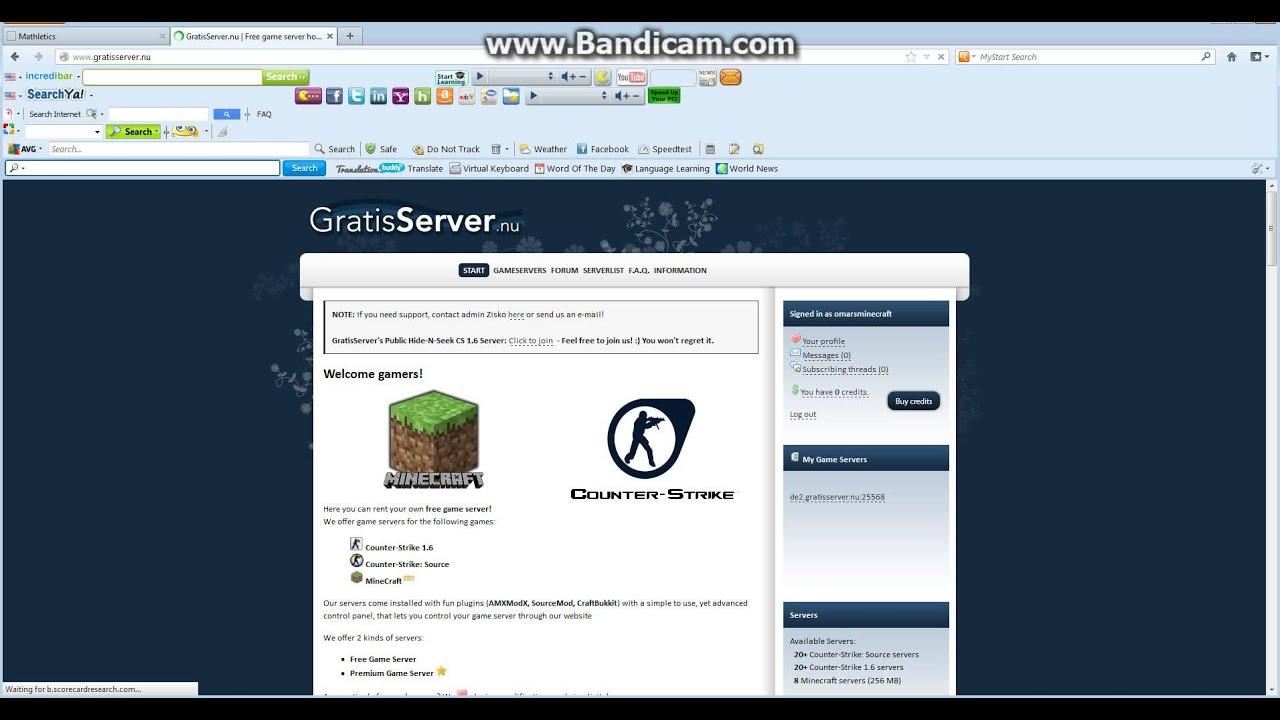 Хостинг на сервер minecraft 1.5.2 бесплатно как сделать копию сайта с помощью wget