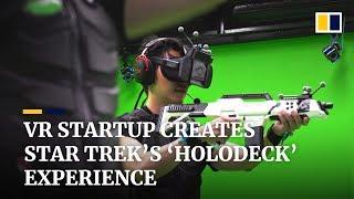 A Hong Kong VR startup has created Star Trek's 'Holodeck' experience