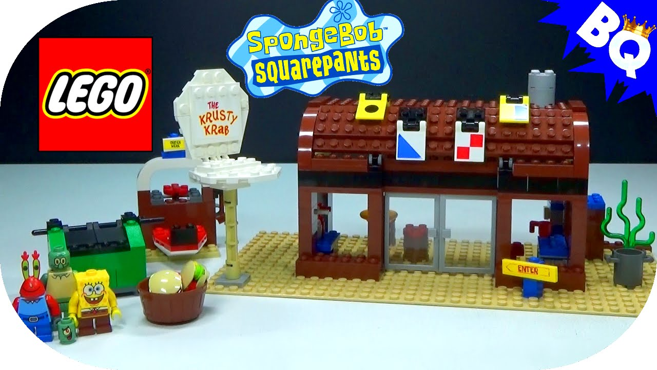 LEGO SpongeBob SquarePants Krusty Krab 3825 Flash Speed ...
