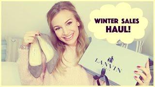 Winter Sales Haul | Lanvin, Jimmy Choo, Alexander McQueen