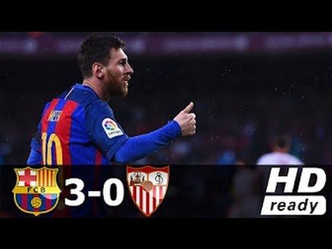 Download FC BARCELONA VS SEVILLA 3-0 FULL GOALS AND HIGHLIGHTS LA LIGA 05/04/2017