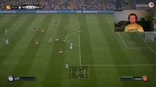 FIFA 17 - zamotaný do kabelu :D