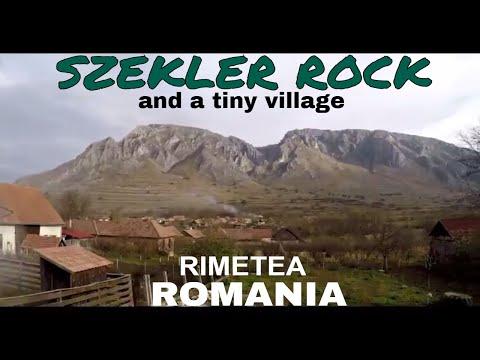 SZEKLER ROCK & The SMALL VILLAGE of RIMETEA, ROMANIA -- Transylvania Sights  //  100
