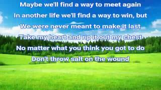Tinashe - Salt (lyrics) 2018 song