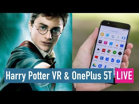 Download Youtube: Harry Potter AR - the new Pokemon Go? OnePlus 5T and more... LIVE!