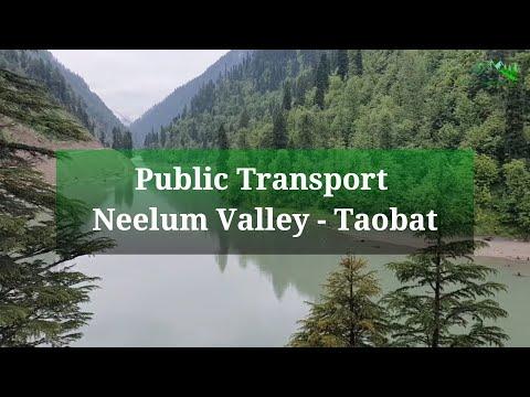 Public Transport Service Information of Neelum Valley including Taobat   July 2021