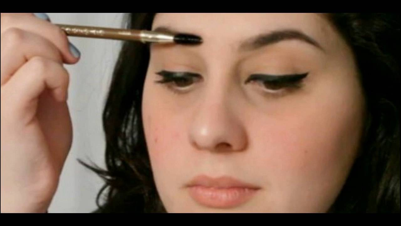 Darkening Eyebrows Through Make Up How To Do At Home Youtube