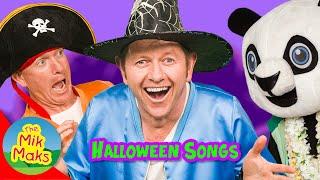 Halloween Songs for Kids | Learn ABC Song | Finger Family Nursery Rhymes | The Mik Maks