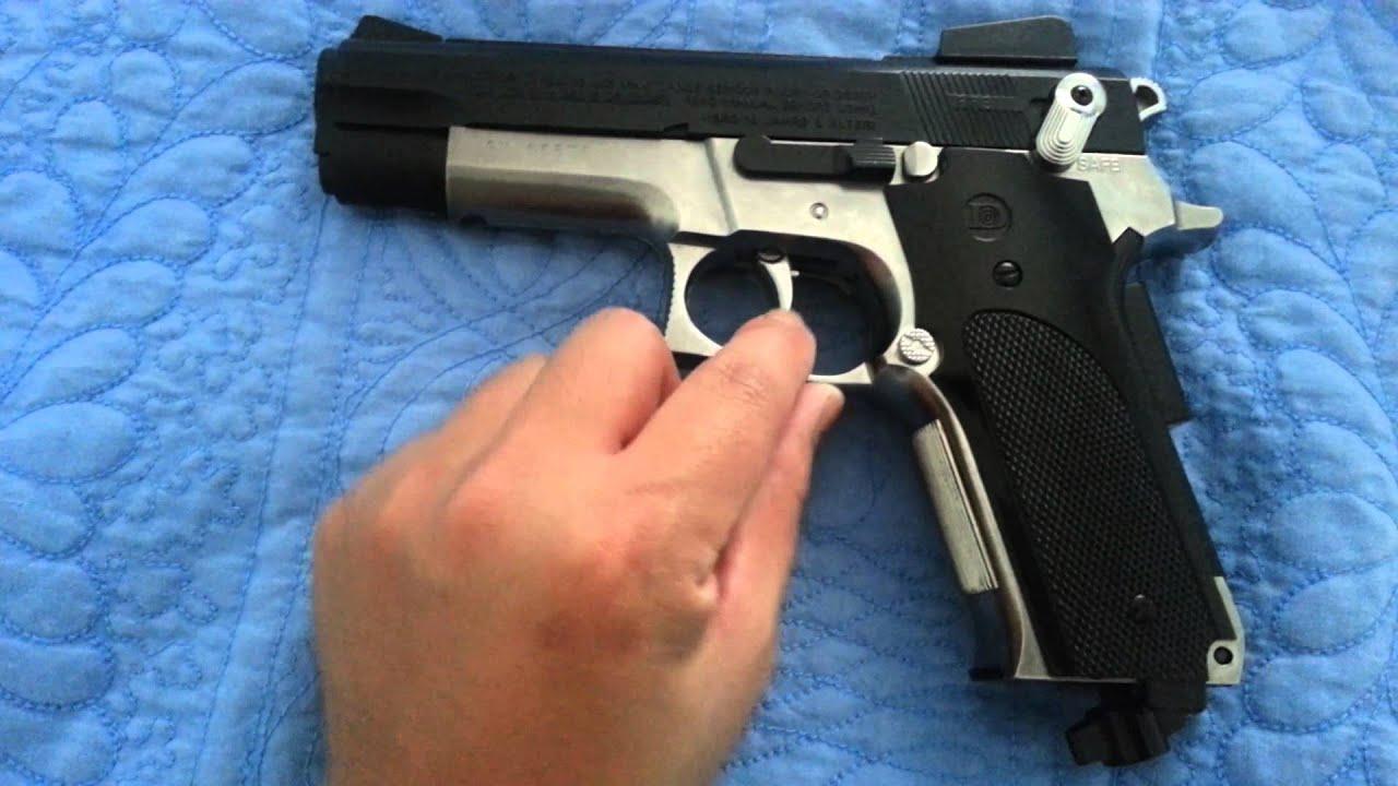 Daisy model 93 powerline co2 semi auto bb gun youtube for Www bb