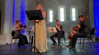 Ave Maria. Caccini - Anica Skryane & Quatuor con Fuoco