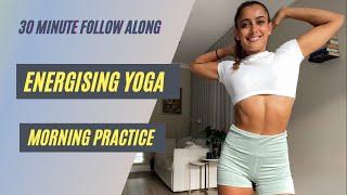 Video 30 MINUTE ENERGISING YOGA | Full Sequence | Shona Vertue download MP3, 3GP, MP4, WEBM, AVI, FLV Maret 2018