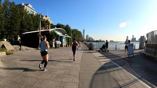⁴ᴷ⁶⁰ Walking NYC : Chelsea Piers to World Trade Center via Hudson River Greenway
