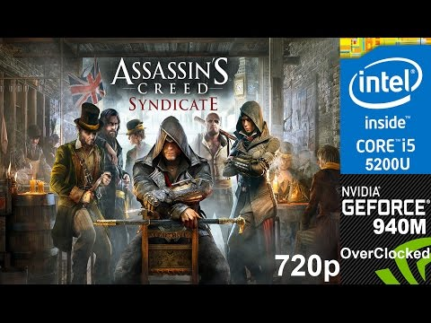 Assassin's Creed Syndicate on Overclocked 940m, HP Pavilion 15 ab032TX Laptop