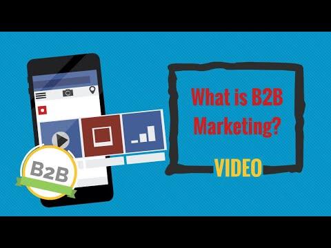 What is B2B Marketing?