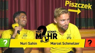 Nuri Sahin vs. Marcel Schmelzer | Who knows more? - The BVB-Duel