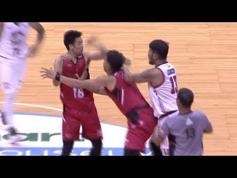 Camson - Maliksi skirmish | PBA Commissioner's Cup 2018