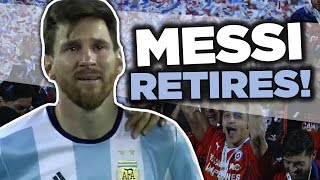 Lionel Messi RETIRES From International Football | Internet Reacts by : Football Daily