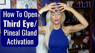 How To Open THIRD EYE/ Pineal Gland Activation