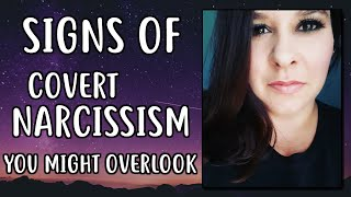 SUBTLE Signs of Covert Narcissism That YOU OVERLOOK!