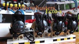 Lego Ghostbusters Ecto-1 Fahrzeug Geisterjäger Bausatz deutsch 21108 Review