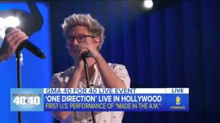 One Direction - Start of the show (GMA)