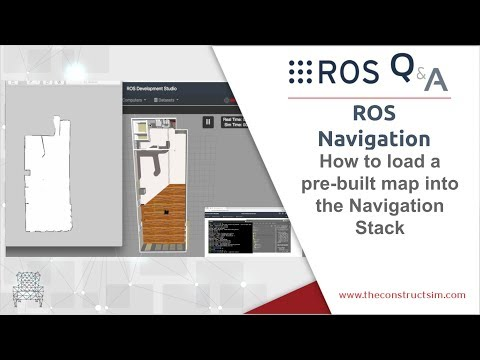 [ROS Q&A] 191 - How to load a pre-built map into ROS for the Navigation Stack thumbnail