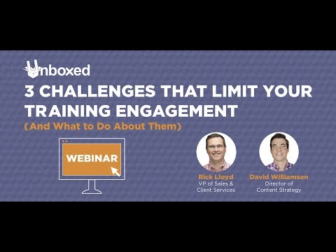 3 Challenges That Limit Your Training Engagement (And What to Do About Them)