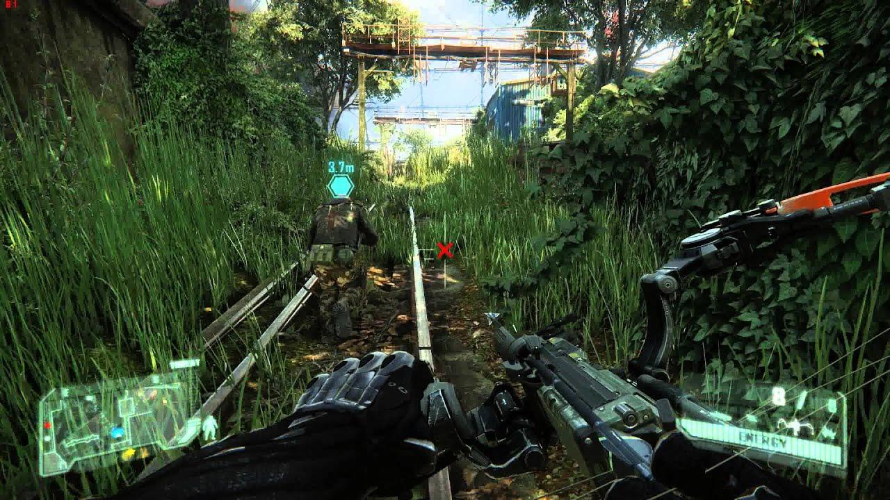 Crysis 3 gameplay on GTX 980 - YouTube