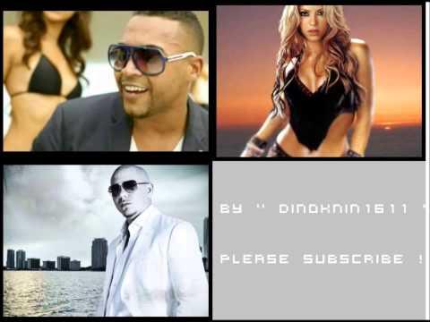 Don Omar vs Shakira vs Pitbull   Danza Rabiosa Kuduro ft  Marc Anthony   Lucenzo REMIX 2012 youtube