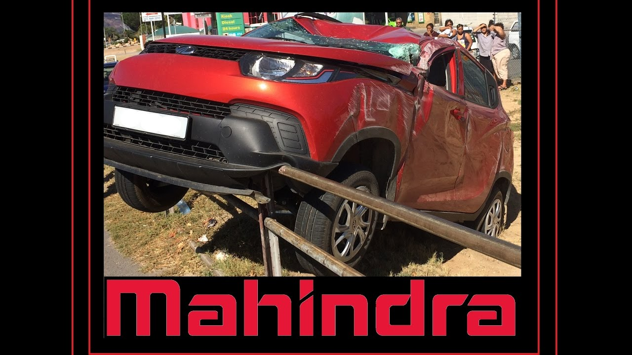 Safest car color accidents - Mahindra Kuv100 Safety Video Huge Car Accident Why This Is One Of The Safest Vehicles Review
