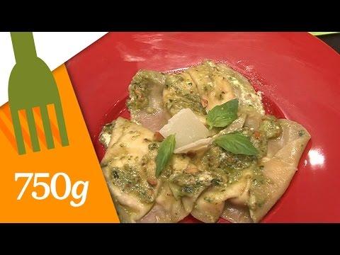 ravioles-au-chèvre-et-sa-sauce-au-pistou---750g