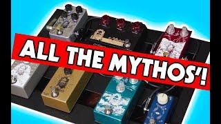 Mythos Pedalboard Play-through   Gibson Les Paul R9