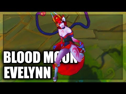 Blood Moon Evelynn Skin Spotlight Final Update (League of Legends)