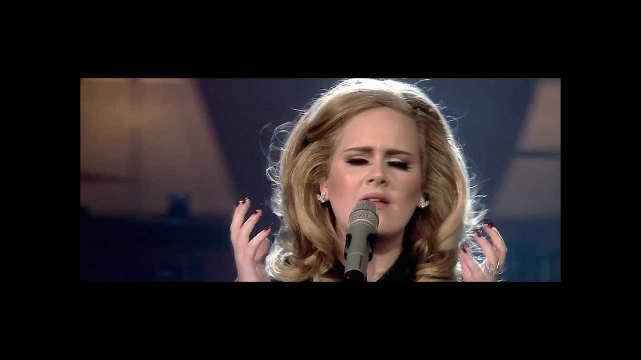 Adele - Someone like you live at Royal Albert Hall HD