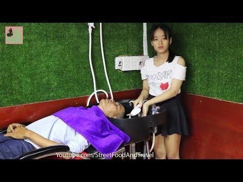 Barbershop Vietnam Massage Face, Haircut & Wash Hair in Ho Chi Minh City