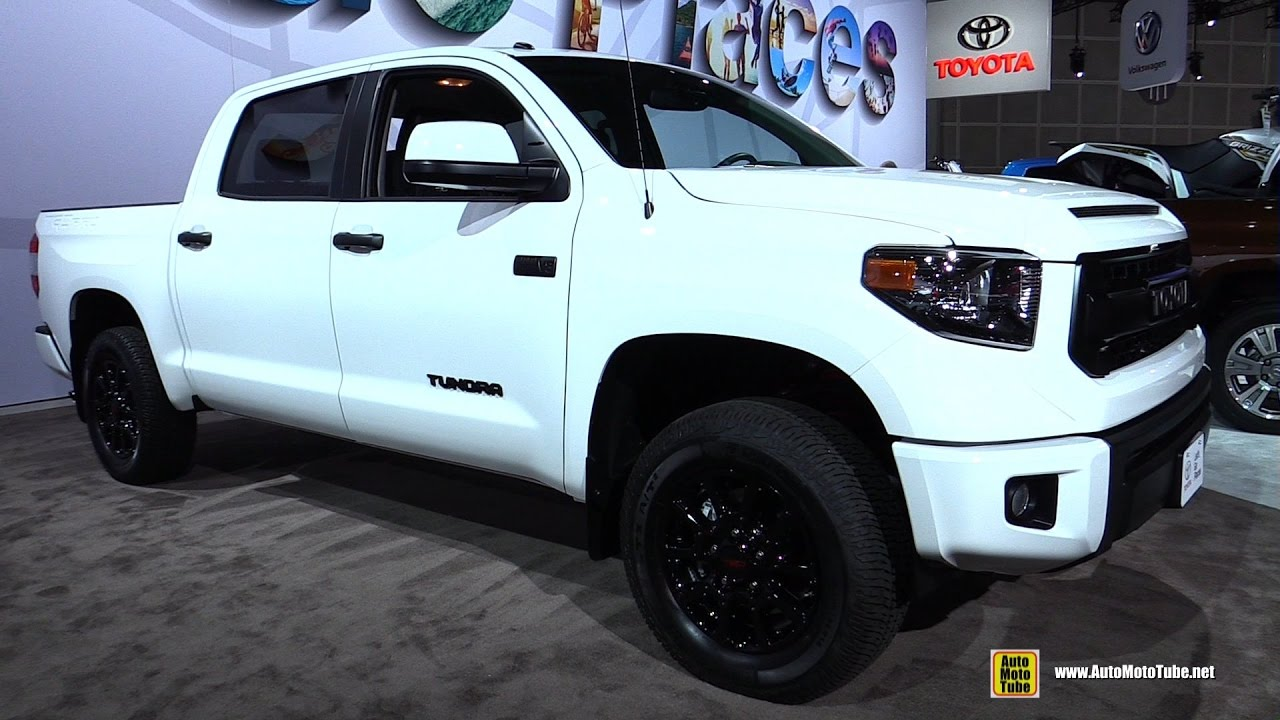 2017 Toyota Tundra Trd Pro Exterior And Interior Walkaround 2016 La Auto Show You