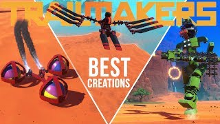 Trailmakers - Flapping Bird Ornithoper - Bipedal Walker Mech & More! - Trailmakers Best Creations